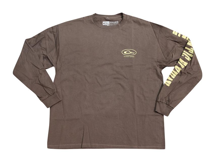 Drake Men's Atlantic Flyway Series T-Shirt Long Sleeve Cotton