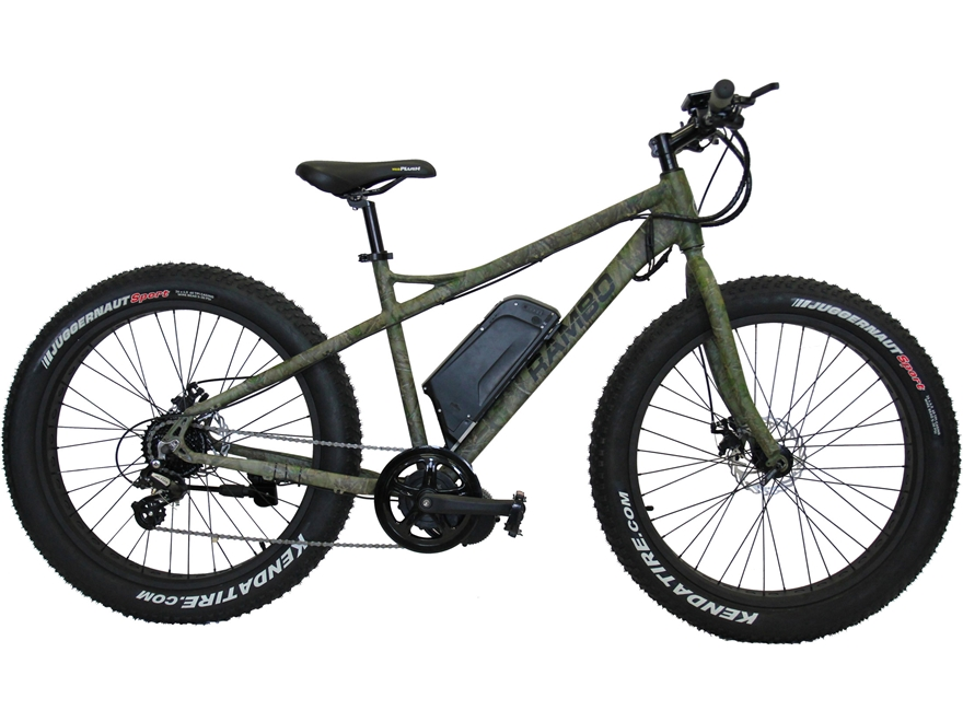 Rambo 750 Watt Motorized Fat Bike