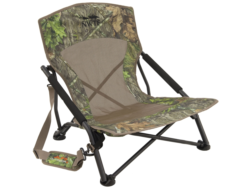 ALPS Outdoorz NWTF Vanish Turkey Chair Mossy Oak Obsession Camo