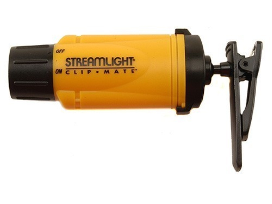 Streamlight ClipMate Flashlight LED with 3 AAA Batteries Polymer