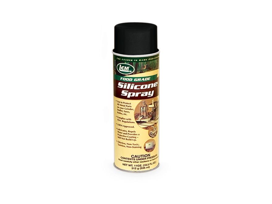 LEM Food Grade Silicone Spray Aerosol 11 oz