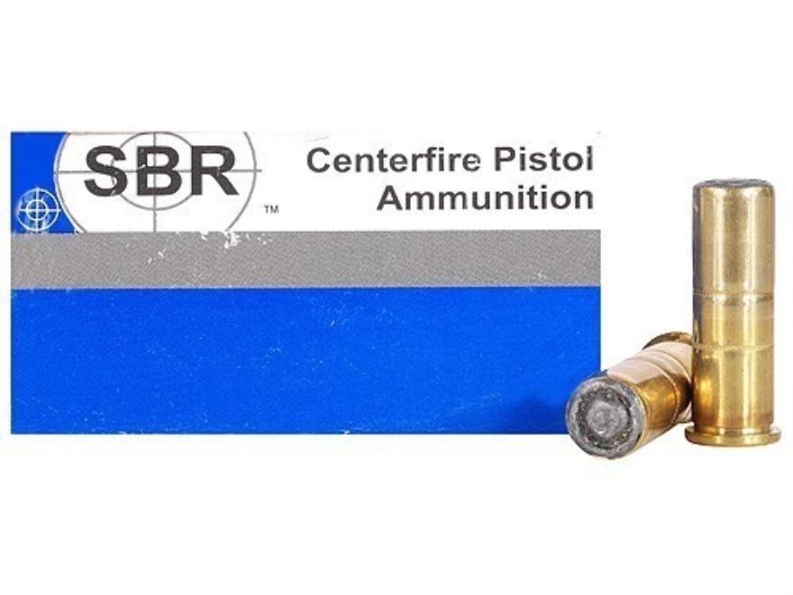 SBR Match Ammunition 38 Special 148 Grain Hollow Base Wadcutter Box of 50