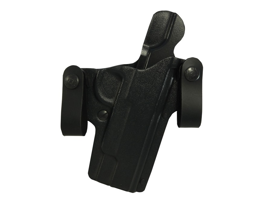 Galco DOUBLE TIME Convertible Belt and Inside the Waistband Holster Right Hand 1911 Com...