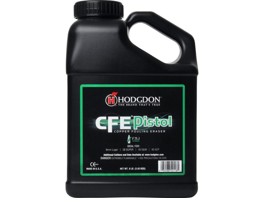 CFE: Hodgdon CFE Pistol Smokeless Gun Powder