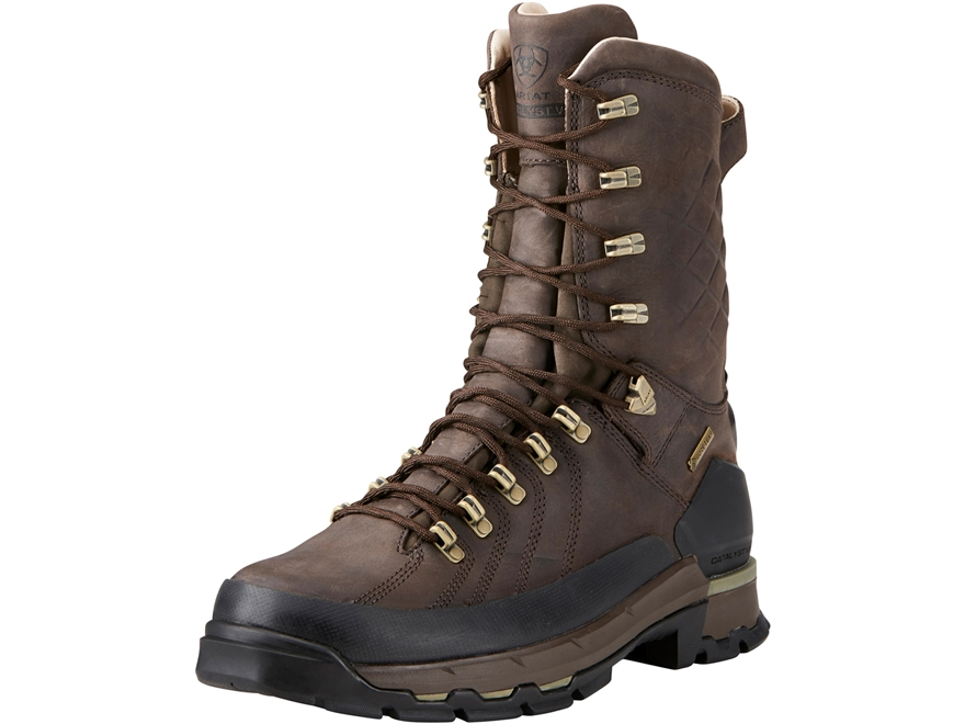 "Ariat Catalyst VX Defiant GTX 10"" Waterproof 400 Gram Insulated Hunting Boots Leather"