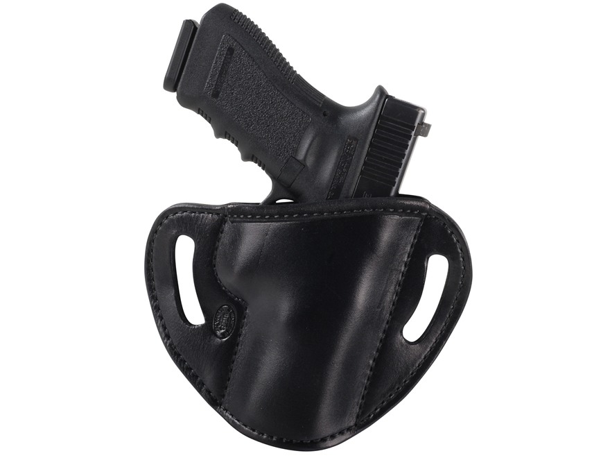 El Paso Saddlery #88 Street Combat Outside the Waistband Holster Right Hand Glock 17, 2...