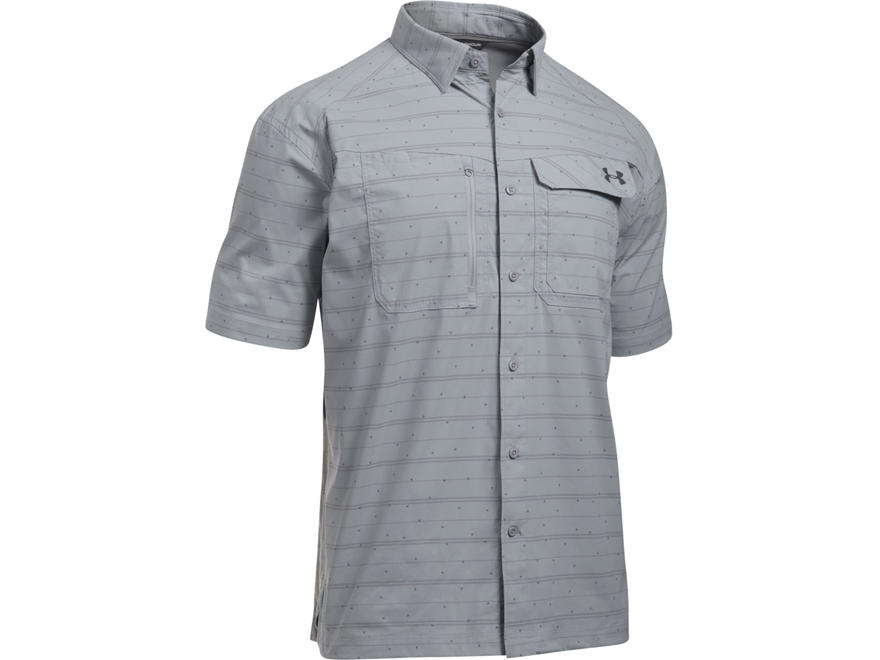 Under armour men 39 s ua fish hunter button up shirt upc for Under armour men s ua fish hunter short sleeve shirt