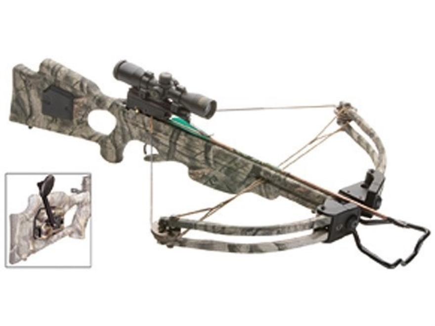 TenPoint Titan HLX Crossbow Package with 3x Pro-View Scope and ACUdraw System Mossy Oak...