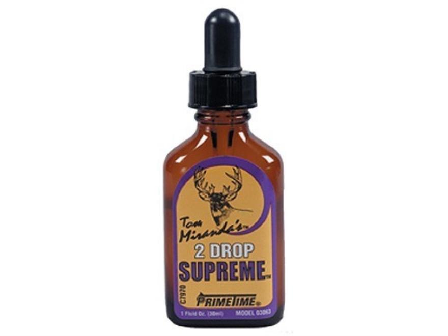 Primetime Tom Miranda's Primetime 2-Drop Supreme Deer Scent Liquid 1 oz