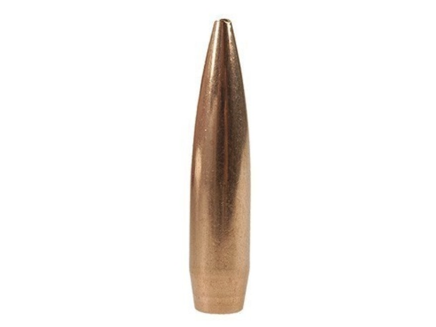 Nosler Custom Competition Bullets 22 Caliber (224 Diameter) 80 Grain Hollow Point Boat ...