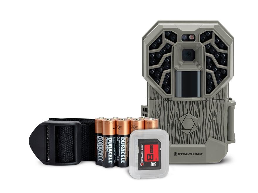 Stealth Cam G26NG Black Flash Infrared Game Camera Combo 12 Megapixel