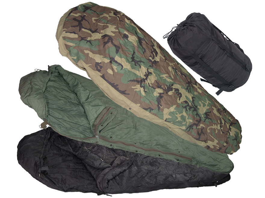 Military Surplus MSS -30 Degree 4-Part Sleeping Bag System