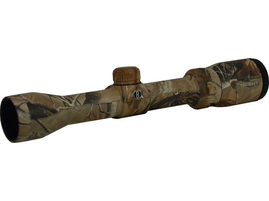 Bushnell Trophy Shotgun Scope 1.75-4x 32mm Circle-X Shotgun Slug Reticle