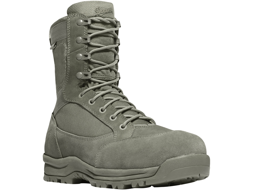 "Danner Tanicus 8"" Waterproof Non-Metallic Safety Toe Tactical Boots Leather/Nylon Men's"