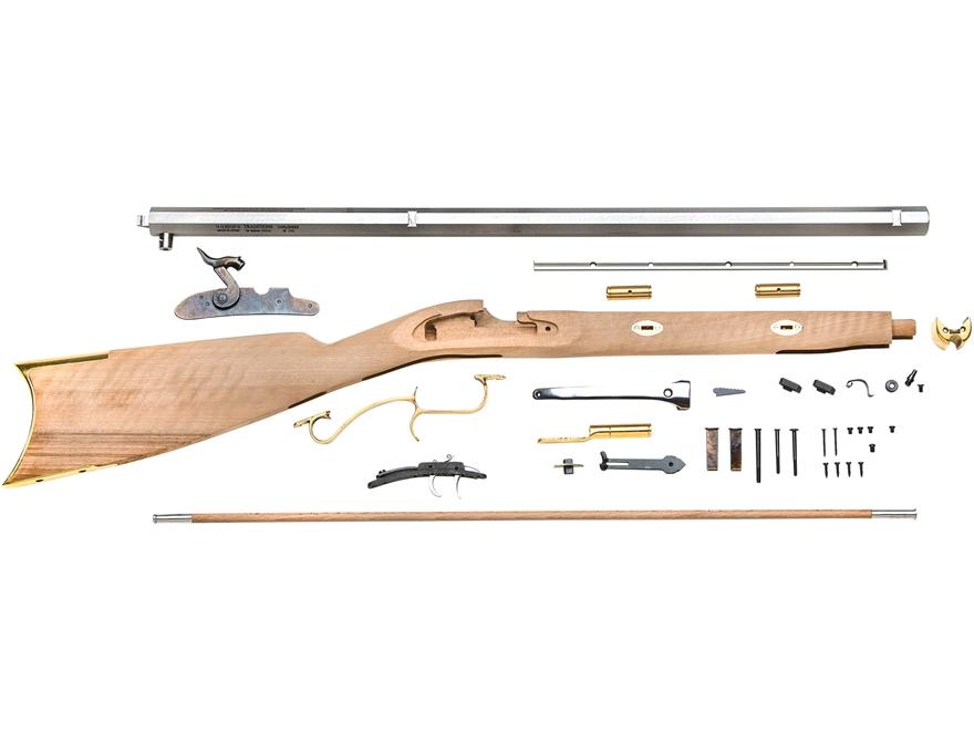 "Traditions Prairie Hawken Muzzleloading Rifle Kit 50 Caliber Percussion 28"" Blue Barrel..."