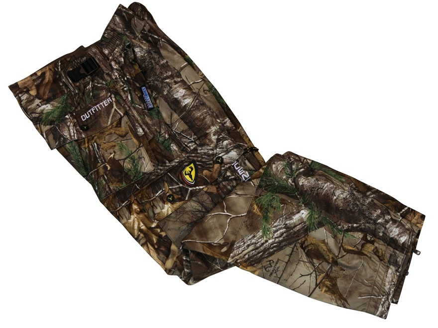 ScentBlocker Men's Scent Control Outfitter Waterproof Pants Polyester Realtree Xtra Cam...