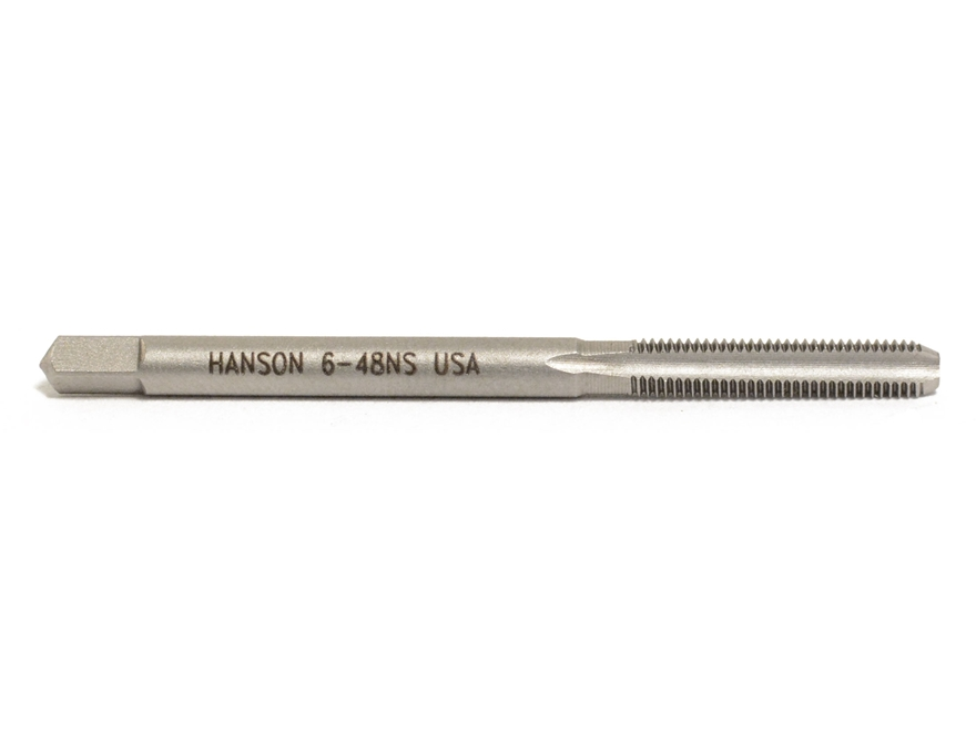 Hanson Carbon Steel Bottom Tap 6-48 Thread