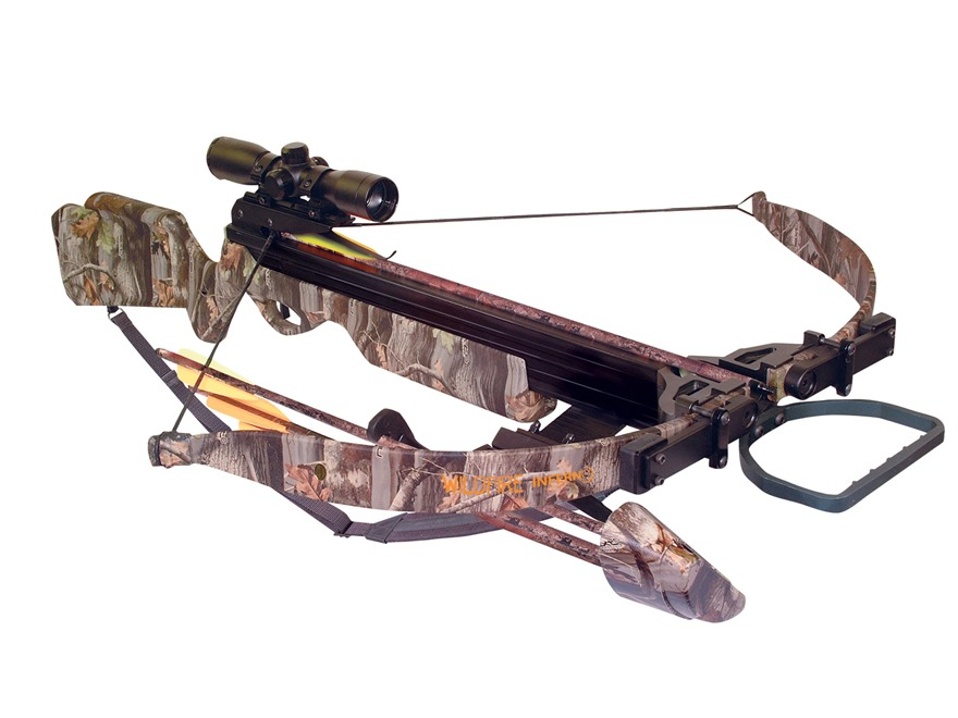 Inferno Wildfire II Crossbow Package Oak Grove Fall Camo