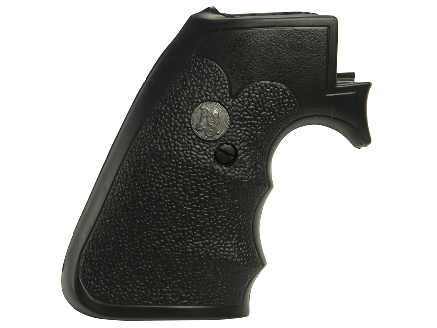 Pachmayr Gripper Decelerator Grips with Finger Grooves Ruger New Model Super Blackhawk ...
