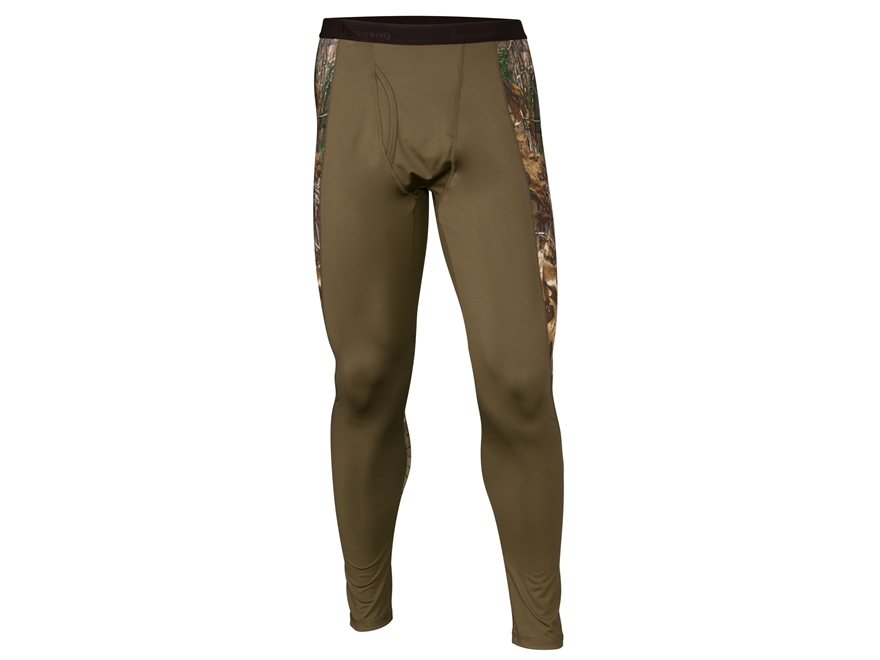 Browning Men's Hell's Canyon Riser Base Layer Pants Polyester