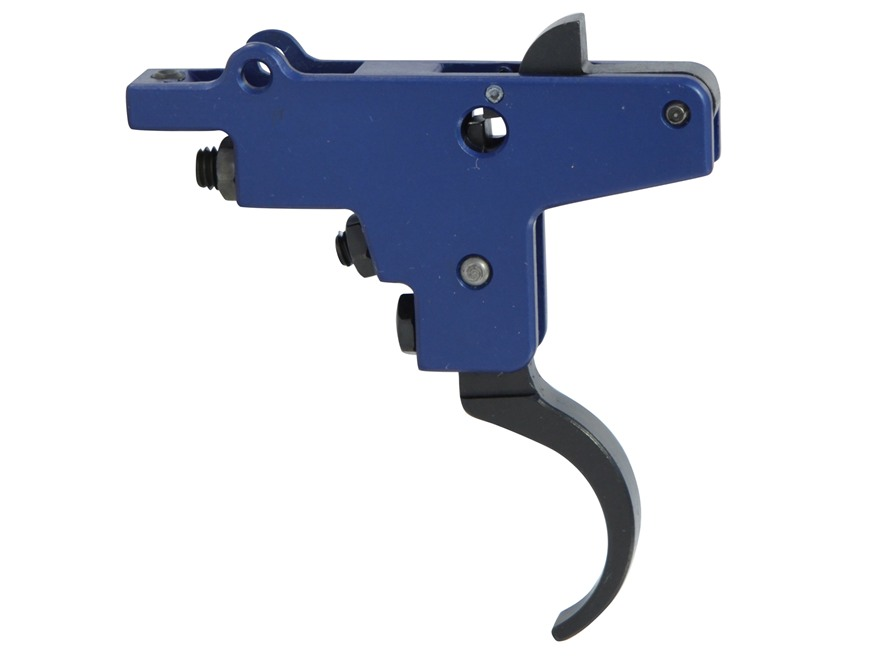 Timney Sportsman Rifle Trigger Mauser 98 without Safety 2 to 4 lb Blue