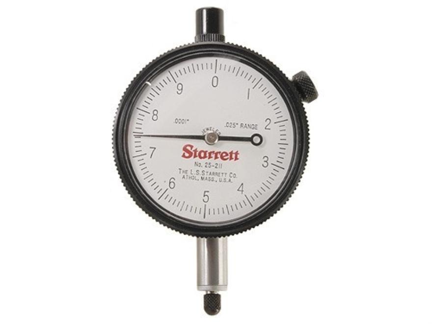 "Starrett Dial Indicator .025"" Range, .0001"" Graduations"