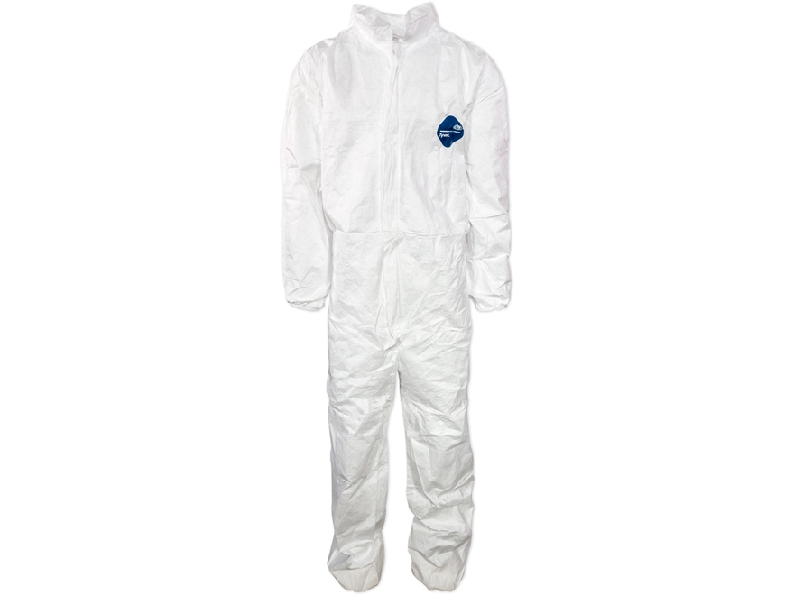 Military Style Tyvek Suit Grade 1 White Large
