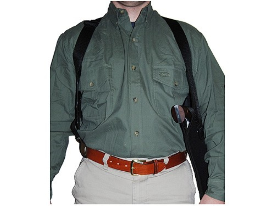 Uncle Mike's Scoped Vertical Shoulder Holster Right Hand Medium and Large Double Action...