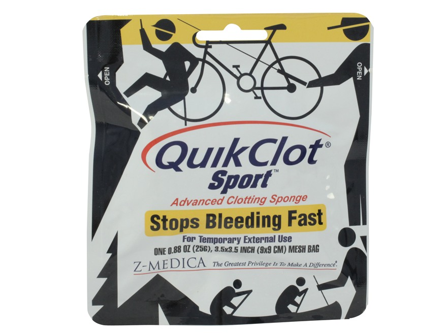 QuikClot Sport Blood Clot Dressing 25 g
