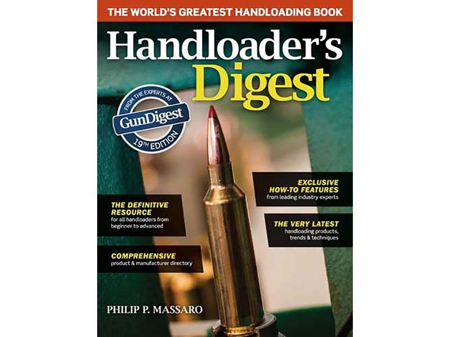 """""""Handloader's Digest Edition 19"""" Book by Phillip P. Massaro"""