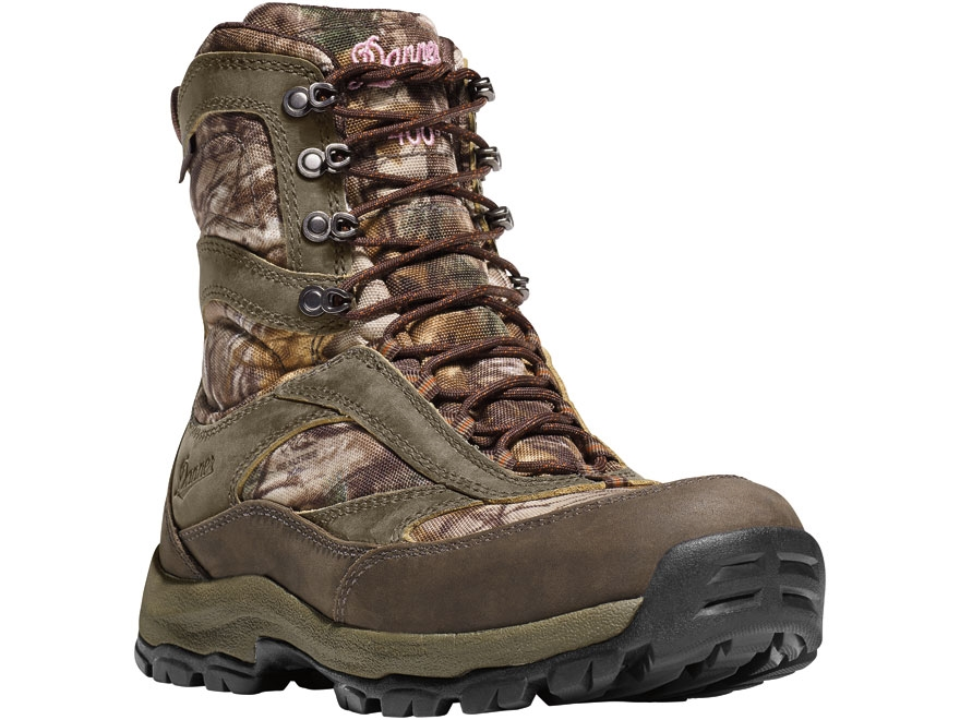 "Danner High Ground 8"" 400 Gram Insulated Waterproof Hunting Boots Leather and Nylon Rea..."