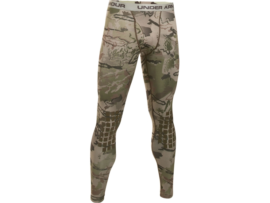 Under Armour Men's UA Ridge Reaper Base Layer Pants Polyester Ridge Reaper Barren Camo
