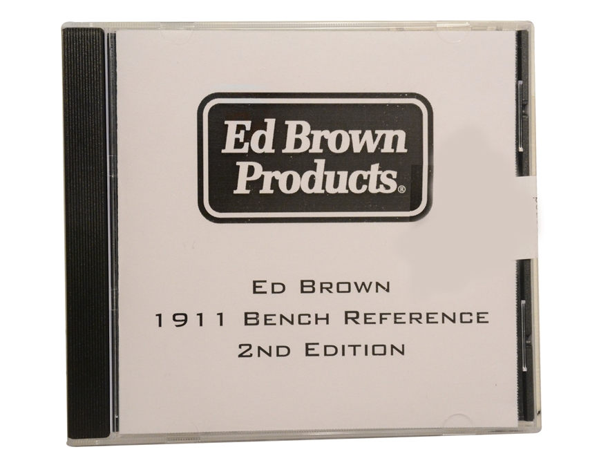 """Ed Brown's 1911 Bench Reference 2nd Edition"""" CD-ROM by Ed Brown"""