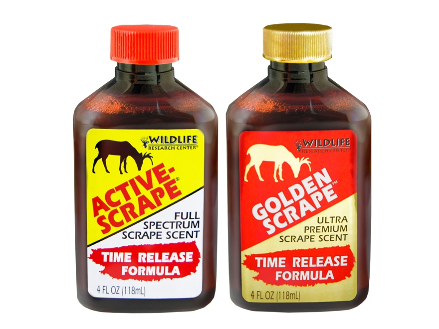 Wildlife Research Active Scrape and Golden Scrape Deer Scent Combo