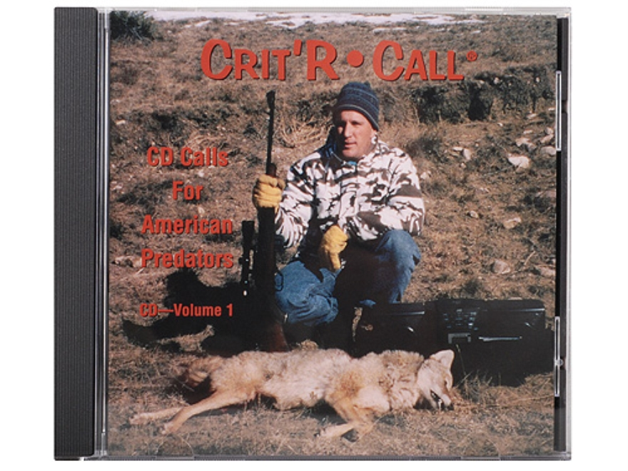 "Crit'R Call ""Volume 1: Calls for American Predators"" Predator Calling Audio CD"