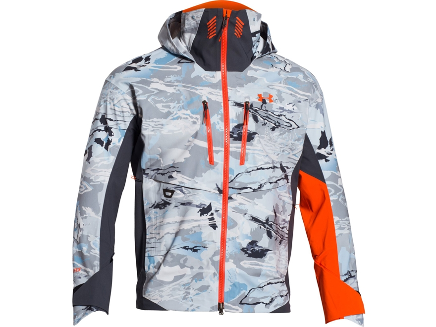 Under Armour Men's UA Ridge Reaper Hydro Rain Jacket Polyester Ridge Reaper Hydro Camo
