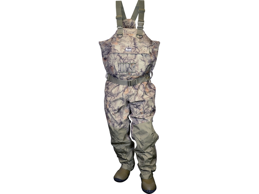 Banded RedZone Breathable 1600 Gram Insulated Chest Waders Poly/Nylon Natural Gear Camo...