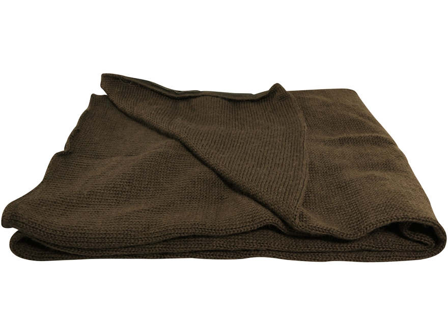 Military Surplus Wool Scarf
