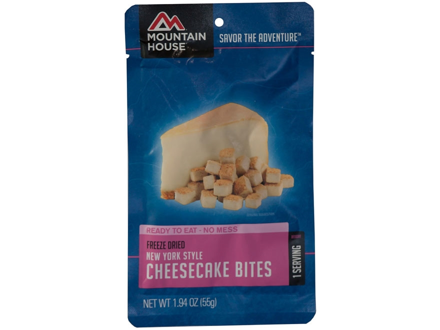 Mountain House 1 Serving Cheesecake Bites Freeze Dried Food 1.94 oz