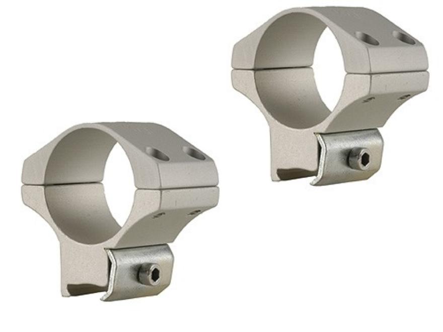 """Ironsighter 1"""" Rings 22 Rimfire 3/8"""" Grooves Medium Silver"""