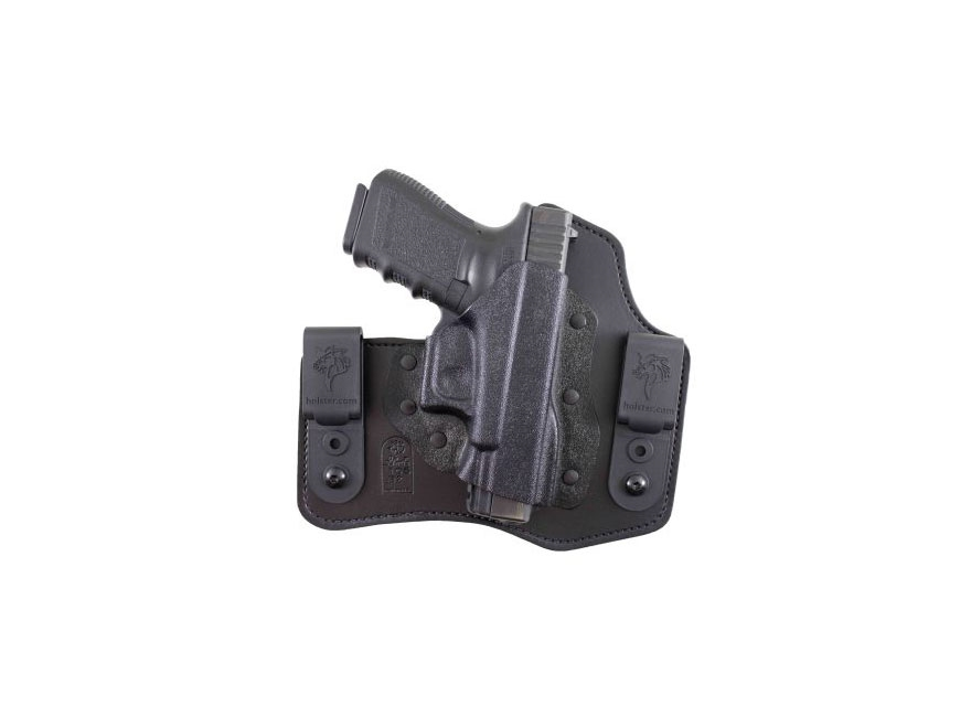 DeSantis Intruder Inside the Waistband Holster S&W M&P Shield 45 ACP Kydex and Leather ...