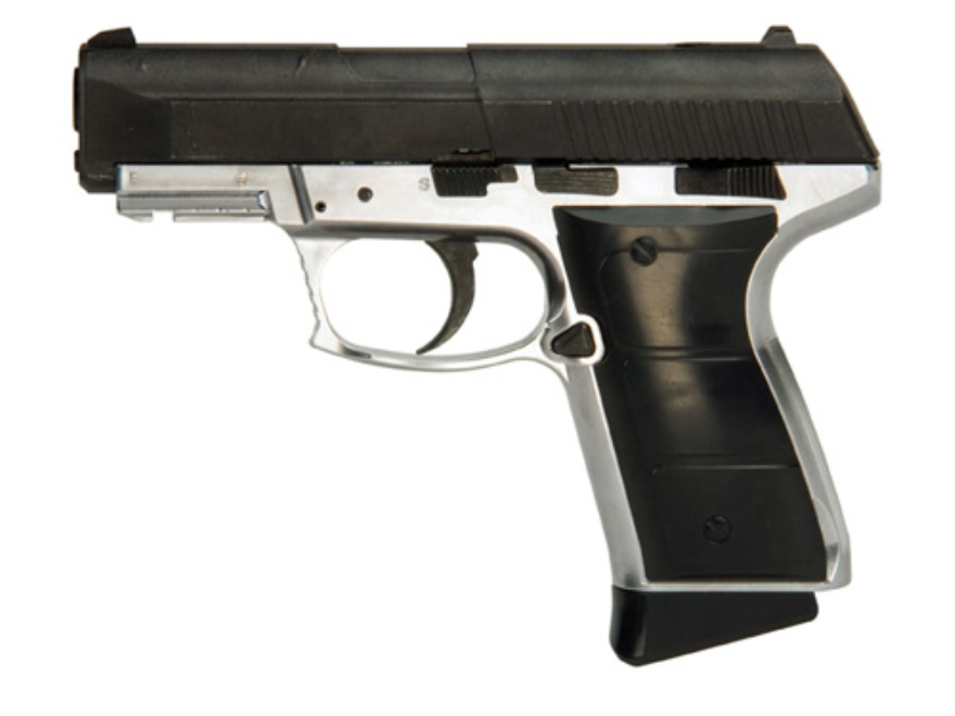 Daisy Powerline 5501 Blowback CO2 Air Pistol 177 Caliber BB Silver and Black