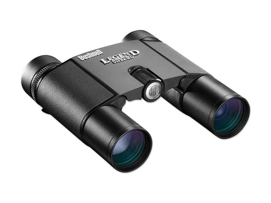 Bushnell Legend Ultra HD Compact ED Binocular 10x 25mm Roof Prism Black