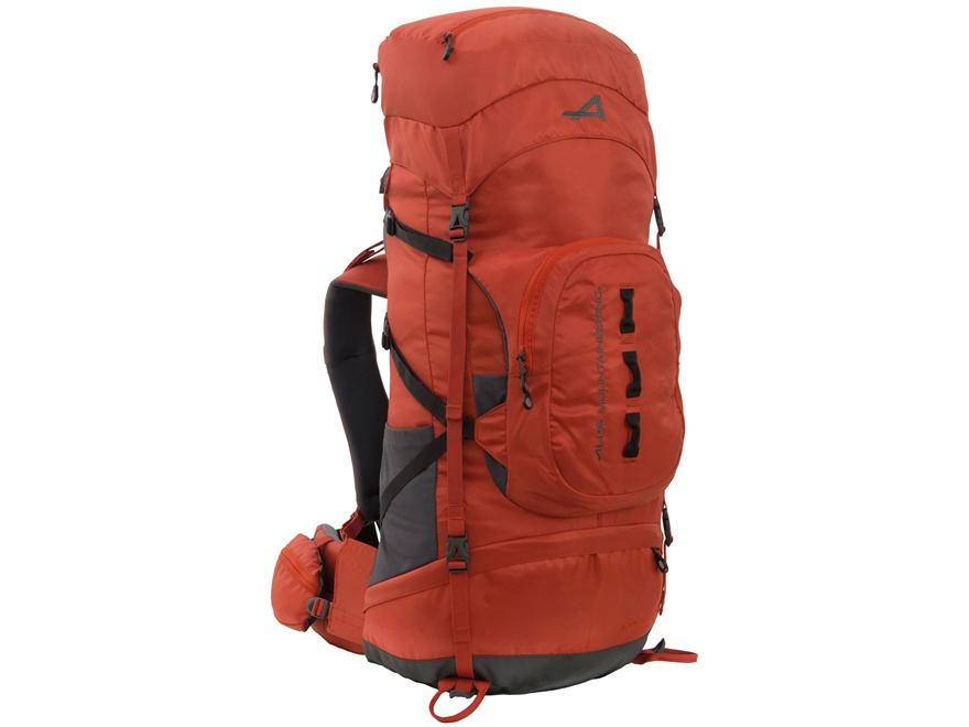 ALPS Mountaineering Red Tail 65 Backpack Polyester Chili