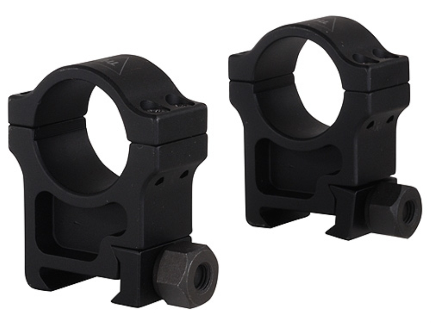 """Trijicon 1"""" Accupoint Aluminum Picatinny-Style Rings Matte Extra High"""