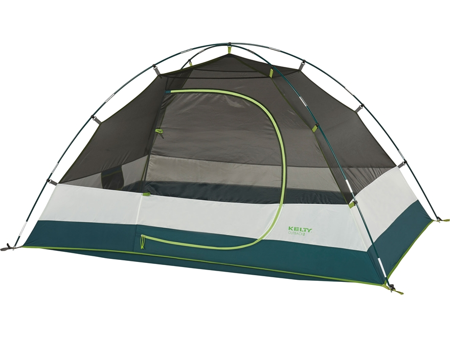 """Kelty Outback 2 Person Dome Tent 86"""" x 50"""" x 41"""" Polyester Gray"""