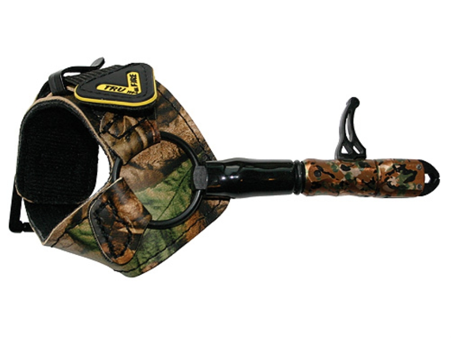Tru-Fire 360 Buckle Foldback Bow Release Buckle Wrist Strap Camo