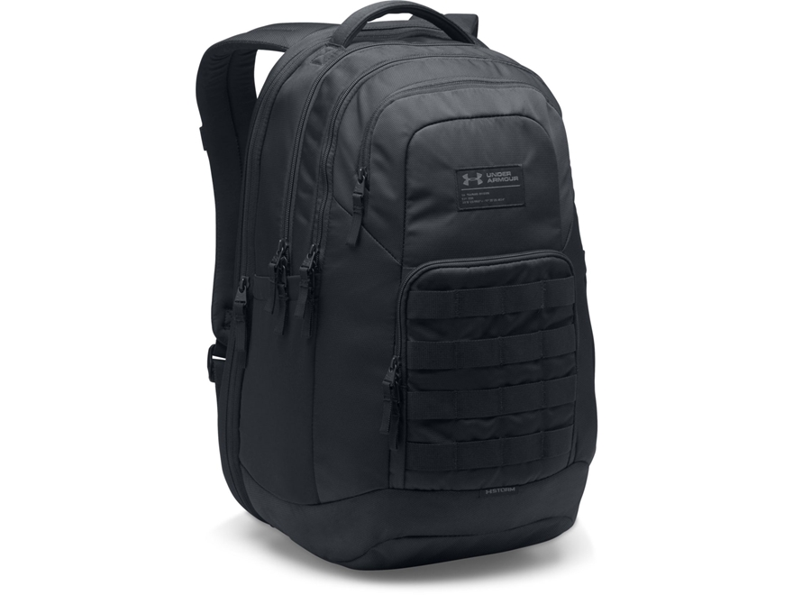 Under Armour Guardian Backpack Polyester and Nylon Black