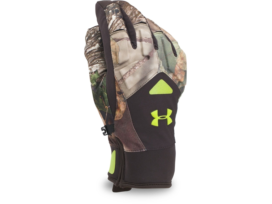 Under Armour Men's UA ColdGear Infrared Scent Control 2.0 Primer Gloves Polyester Mossy...