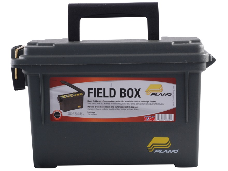 Plano Ammo Can Plastic Olive Drab